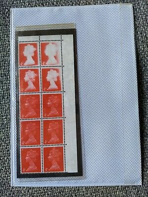 Error block of Machin 4d definitives. Probably a replica and sold as such.