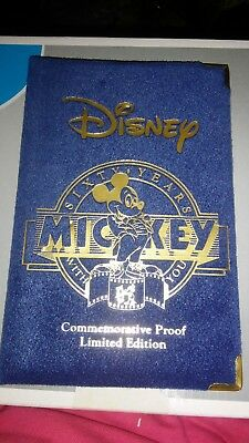 Disney Sixty Years Mickey With You Commemorative Proof Limited Edition Fine...