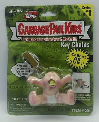 Garbage Pail Kids GPK TOPPS Keychain UpChuck #3A - 2001 - NEW/Sealed!