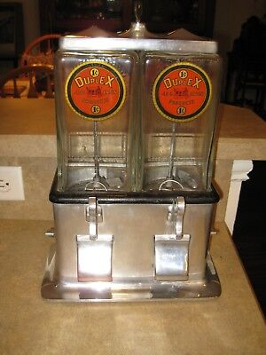 Log Cabin Peanut or Candy machine One Cent
