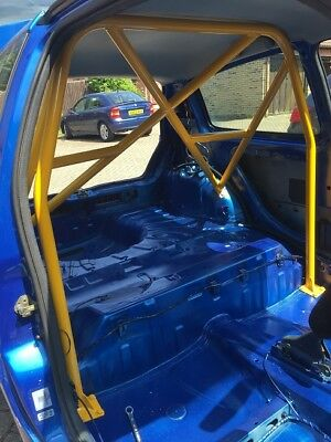 Renault Clio Roll cage. Mk 2 rear bolt in with coss & belt bars