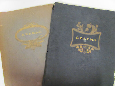 Pullman High School, W.Virginia, Yearbooks Lot of 2 - 1939 & 1940