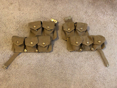 British Pattern 08 Cartridge Carriers
