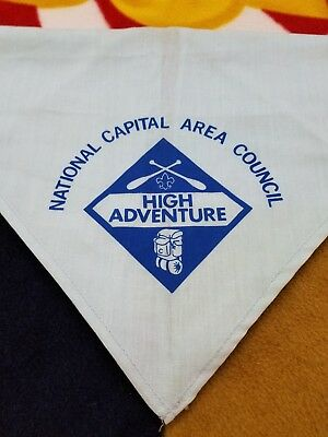 National Capital Area Council BSA Neckerchief, BSA High Adventure, Boy Scouts