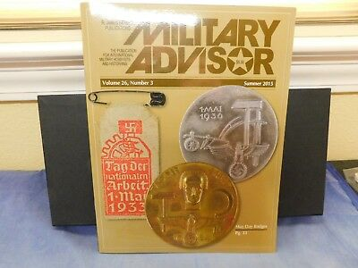 Military advisor magazine vol 26 #3 SUMMER 2015 OLD FIGHTERS, ULRICH GRAF + MORE