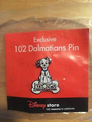 Disney 102 Dalmations Pin New In Package