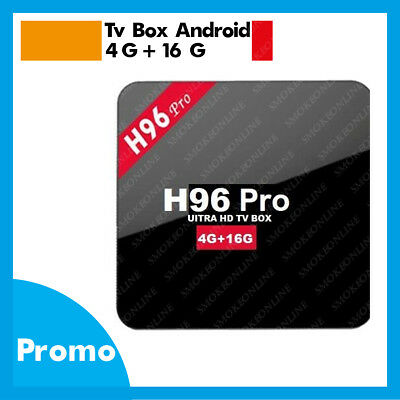 TV Box 4K HD H96 PRO Quad-core Android 7.1 DDR3 4 G Ram 16 G Rom WIFI SMART TV
