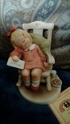 Mabel Lucie Attwell WELCOME SANTA Rocking Chair #114960 1988. In Box.  Free Ship