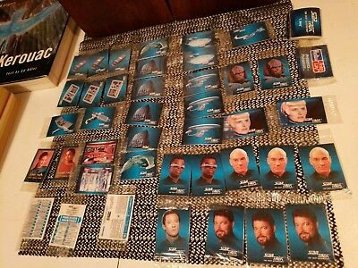 Star Trek Card Lot 1993 Hostess Frito Lay -The Next Generation, Deep Space Nine