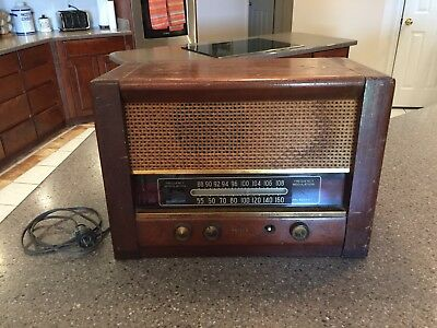 RARE PHILCO 49-909 tube radio - Working! - ca. 1949 - PLEASE WATCH THE VIDEO!
