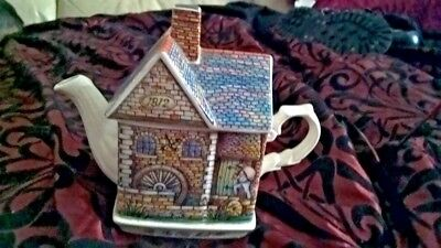 Vintage Sadler Classic Collection English Country Crafts The Old Mill Teapot