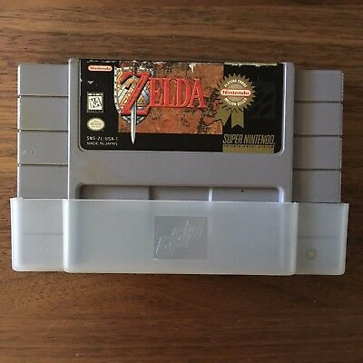 The Legend of Zelda: A Link to the Past Authentic SNES Super Nintendo