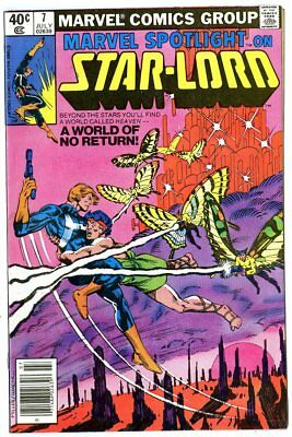 Marvel Spotlight #7 NM- 9.2 white pages  Star-Lord  Marvel  1980  No Reserve