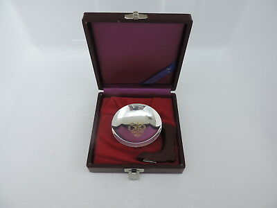 VINTAGE SIGNED JAPANESE SOLID STERLING SILVER CUP NESTING BOWL W BOX 42gr 1.5 oz
