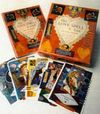 The Love Spells Box: Pack of 30 Love Spells Cards ... by Kemp, Gillian Paperback