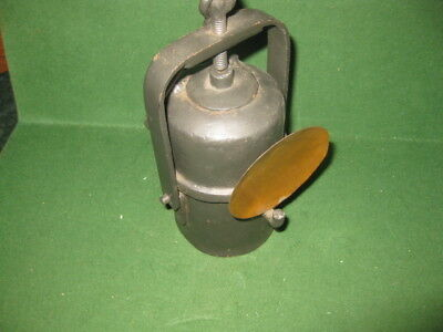 Antique  Rare Miners Carbide  Lamp With Hook,  1900's Circa, Look!!!