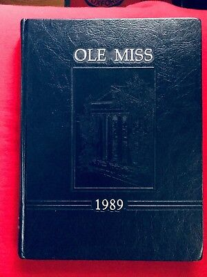 1989 Ole Miss Yearbook, University of Mississippi