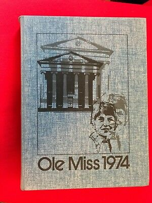 1974 Ole Miss Yearbook, University of Mississippi