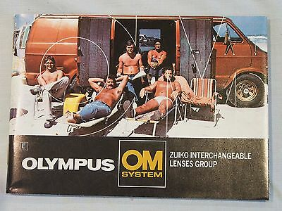 Brochure Olympus OM System Zuiko Interchangeable Lenses Group