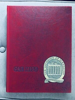 1976 Ole Miss Yearbook, University of Mississippi Rebel flag imagery