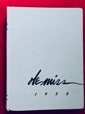 1983 Ole Miss Yearbook, University of Mississippi