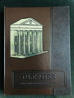 1982 Ole Miss Yearbook, University of Mississippi, Rebel flag imagery / Col. Reb