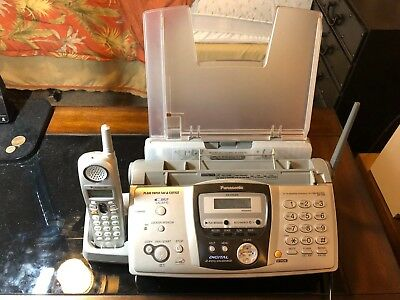 Panasonic KX-FPG379 Fax Machine - Telephone
