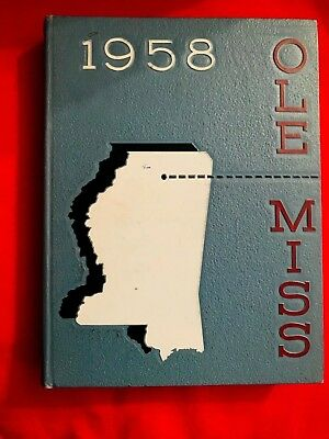 1958 Ole Miss Yearbook, University of Mississippi, Mary Ann Mobley