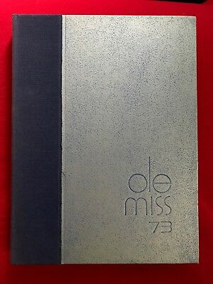 1973 Ole Miss Yearbook, University of Mississippi