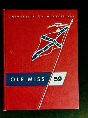 1959 Ole Miss Yearbook,University of Mississippi, Mary Ann Mobley Miss America