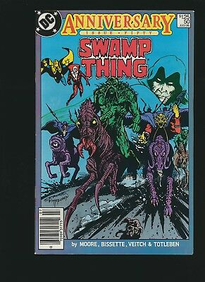 Swamp Thing #50, 8.0/VF