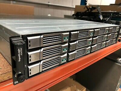Dell EqualLogic PS4100E, 12 x 1TB 7.2K NL SAS