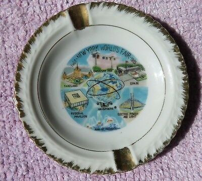 Vintage 1964 New York World's Fair Ash Tray - $7.99 with Free Shipping!