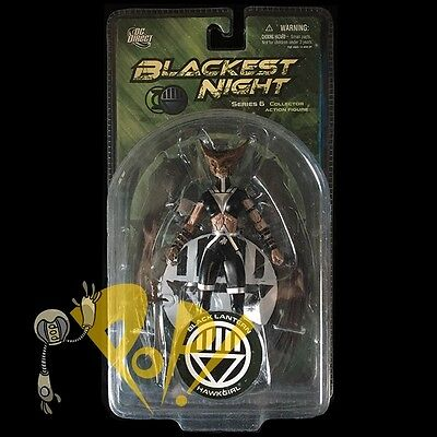 BLACKEST NIGHT Series 6 BLACK LANTERN HAWKGIRL Action Figure DC Direct!