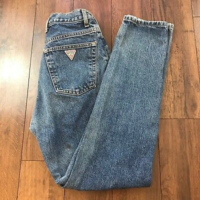 Vintage 80s Women's Guess Jeans Georges Marciano Light Wash Size 27x29