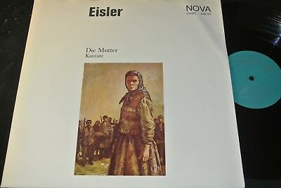 HANNS EISLER Die Mutter - Kantate... / DDR Gatefold Cover LP 1970 NOVA 885001