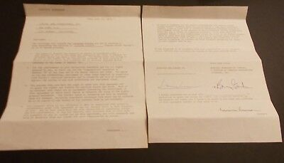 Louise Lasser Hand Signed ABC Loan Out Agreement....Actress +Television Writer