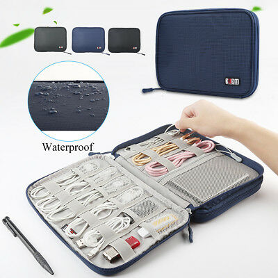 Electronic Accessories Cable Organizer Bag Travel USB Charger Storage Case Box