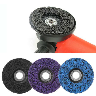 Clean Strip Coarse Grinding Disc Paint Dust Removal Angle Grinder Tools 115x22mm