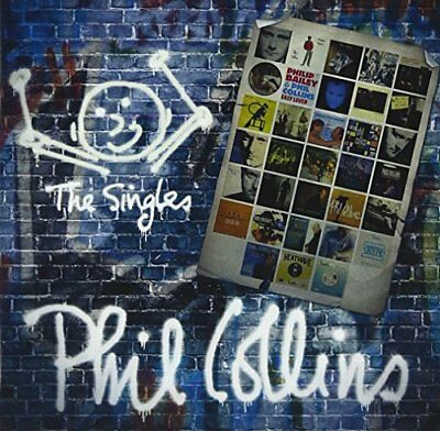Phil Collins Singles Collection 2CD Japan CD WPCR- From japan