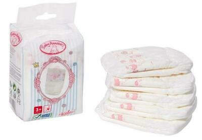Doll Nappies, 5 Pack - Baby Annabell Free Shipping!