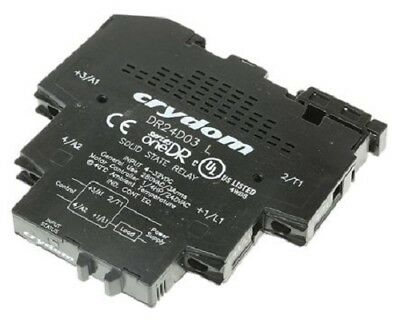 Crydom DR24D03 , 3 A Solid State Relay, Zero Cross, DIN Rail, 280 V ac Maximum