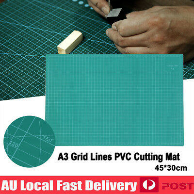 A3 PVC Thick Self Healing Cutting Mat Craft Quilting Art DIY Grid Lines