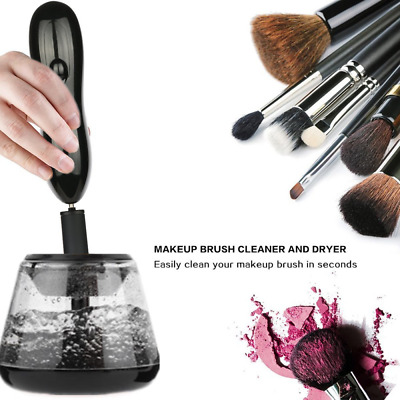 Electric Makeup Cosmetic Brushes Brush Cleaner Drying Washing Machine Tools BB
