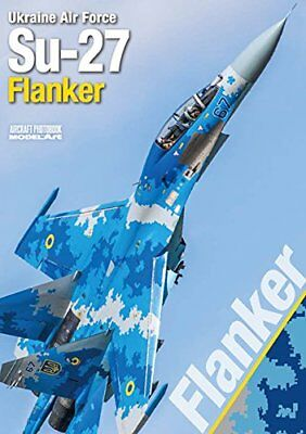 Model Art Ukraine Air Force Su-27 Flanker Book NEW from Japan