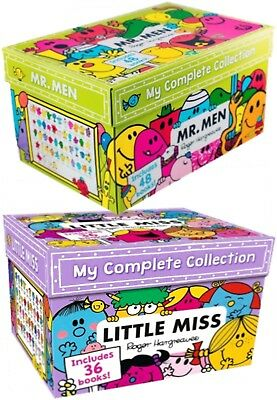 Mr Men and Little Miss Box Set Collection 84 Books by Roger Hargreaves Pack NEW