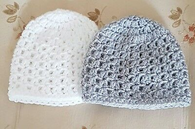 Pack of 2  baby Hats  in premature 31b - 5.51b