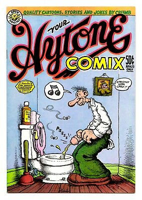 Your Hytone Comix - 2nd Printing / 1971 Underground Comix Robert Crumb - FN/VF