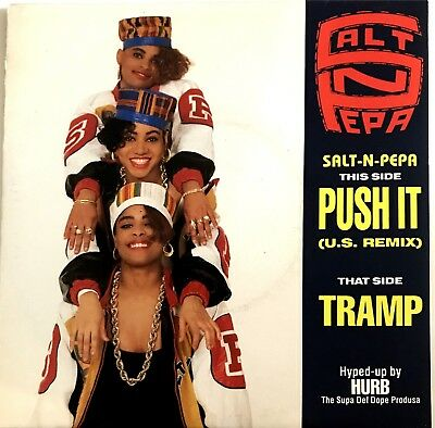 "SALT 'N' PEPA : TRAMP : PUSH IT - [ 45 Tours / 7"" Single ]"