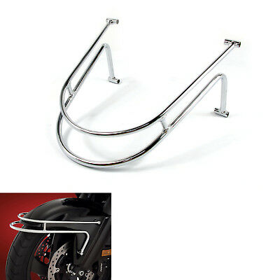 NEW Chrome Front Fender Rail Guard For Honda Goldwing GL1800 1800 F6B 2001-2017